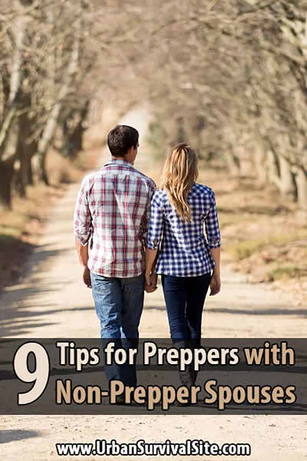 9 Tips for Preppers with Non-Prepper Spouses