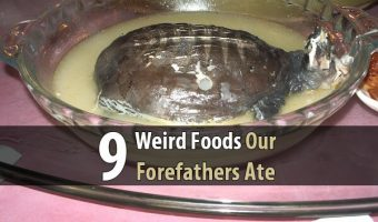 9 Weird Foods Our Forefathers Ate