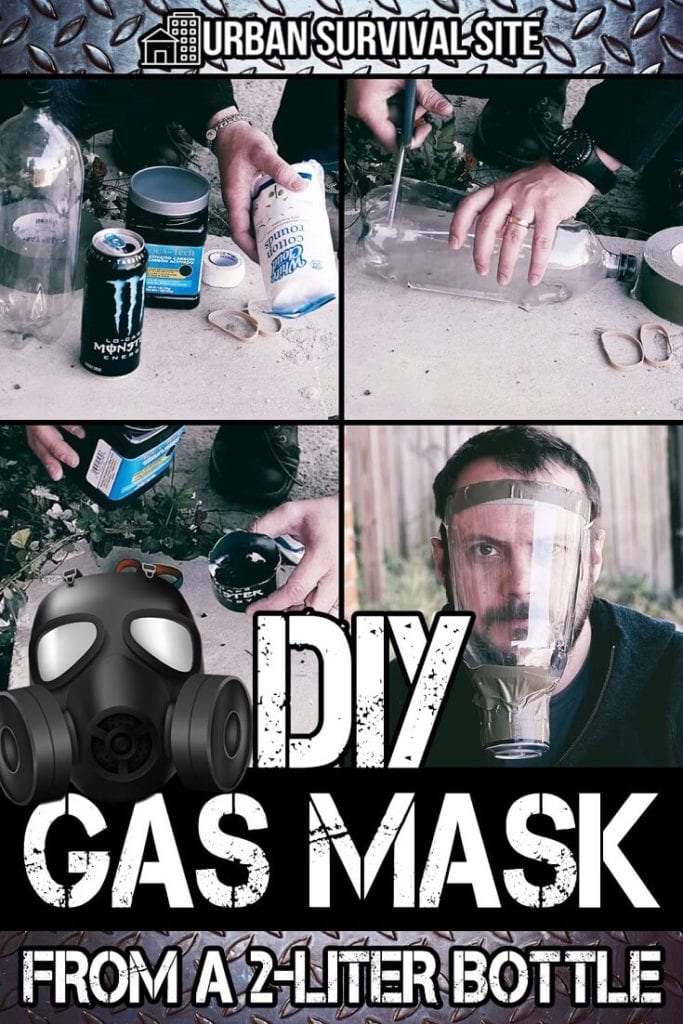 DIY Gas Mask From A 2-Liter Bottle