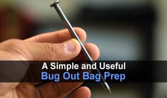 A Simple and Useful Bug Out Bag Prep