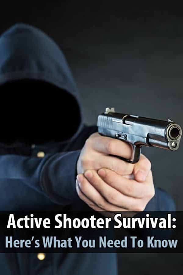 Active Shooter Survival: Here's What You Need To Know