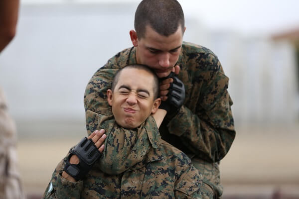 Army Training Headlock