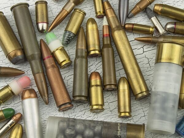 Assorted Ammunition Calibers
