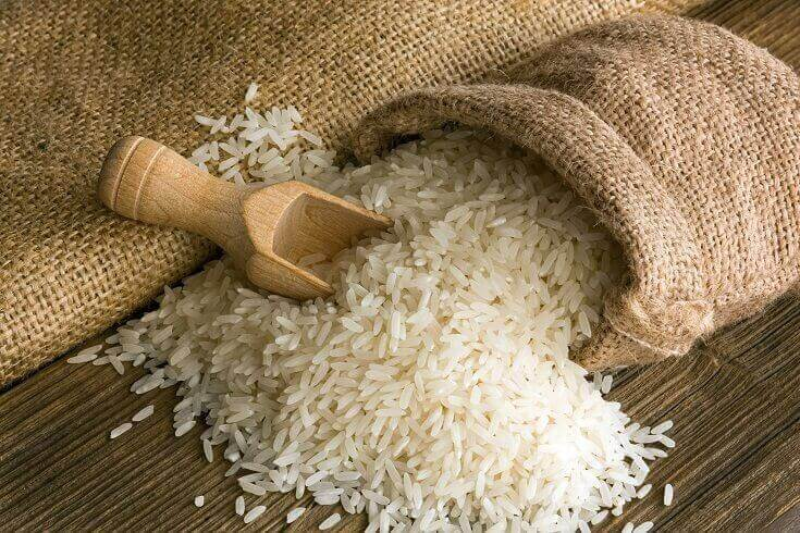 Bag of Rice with Scoop
