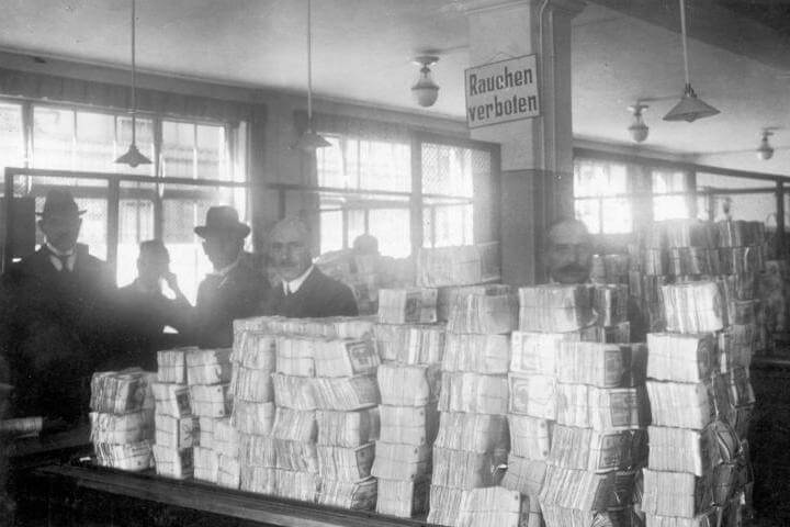 Bank Notes Hyperinflation in Germany