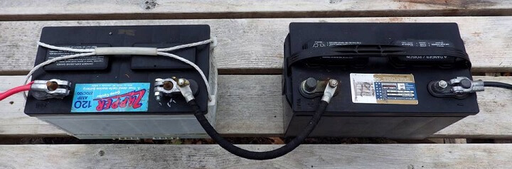 Batteries in a Series
