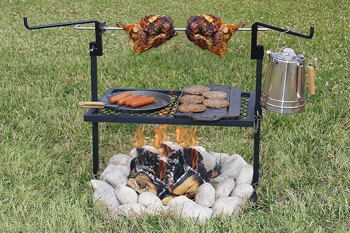 Camping Rotisserie Grill and Spit