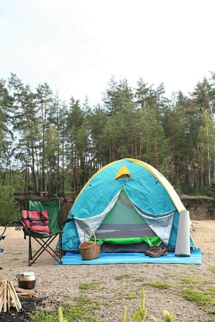 Camping Tent and Accessories