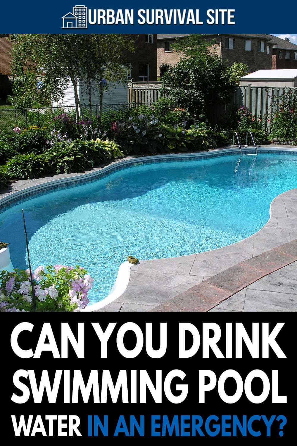 Can You Drink Swimming Pool Water In An Emergency?
