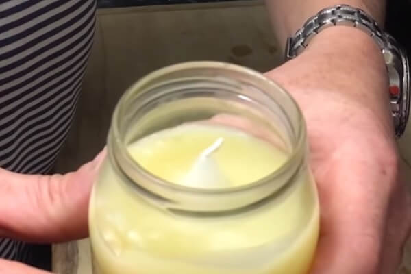 Candle in Fat