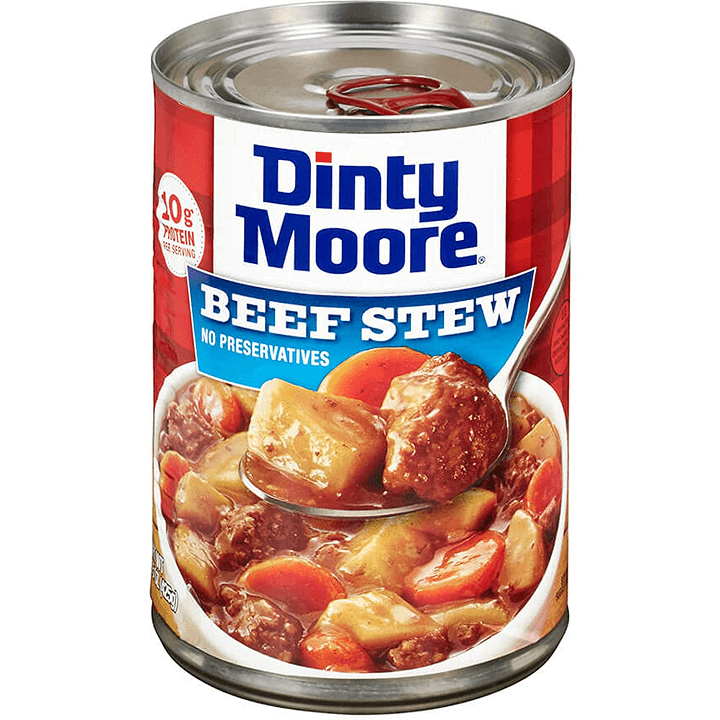 Canned Beef Stew