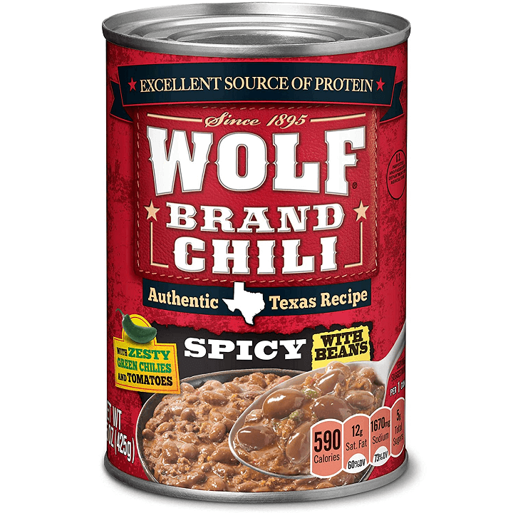 Canned Wolf Chili