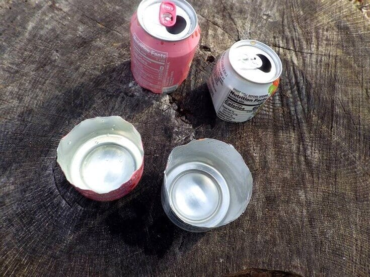 Cans for Tinder Trap