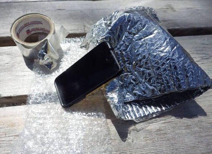 Cell Phone Faraday Cage Materials