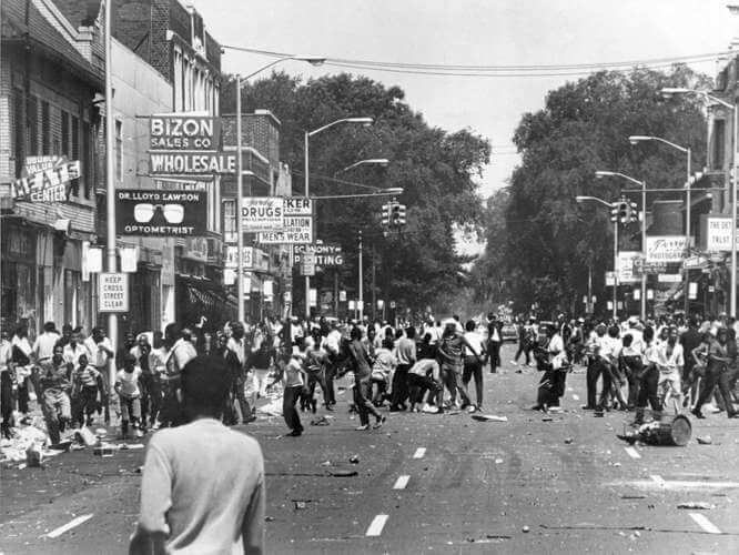 Detroit Riots of the 1960s