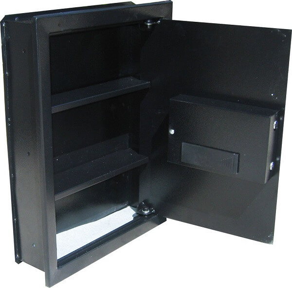 Digital Electronic Flat Wall Safe | Secret Gun Safes
