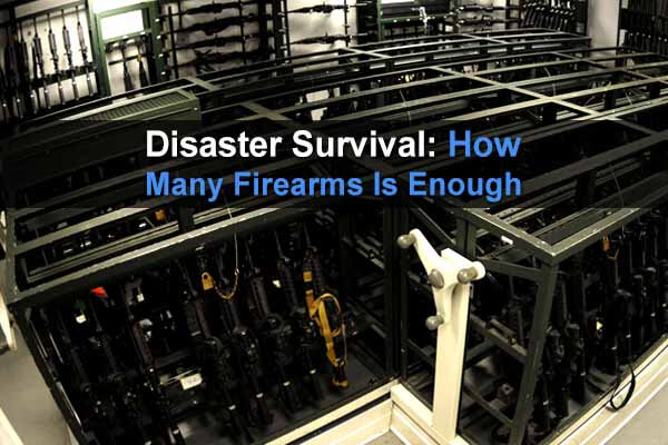 Disaster Survival: How Many Firearms Is Enough?