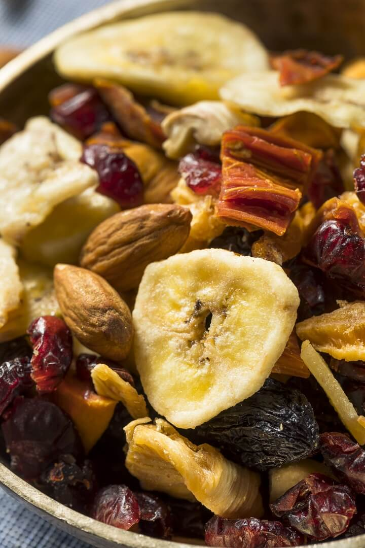 Dried Fruit Trail Mix
