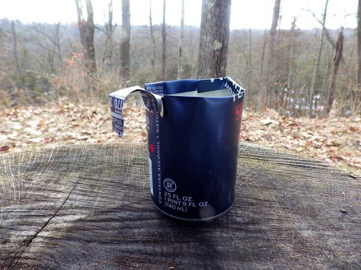 Drinking Cup From Can
