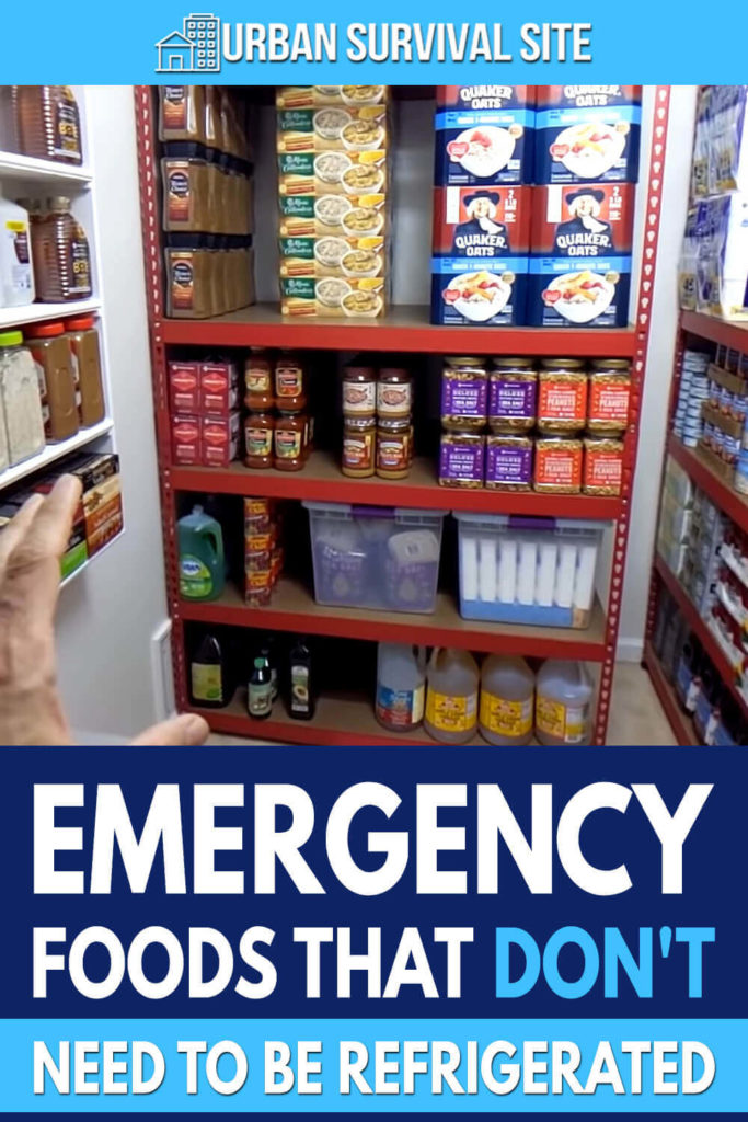 Emergency Foods That Don't Need To Be Refrigerated