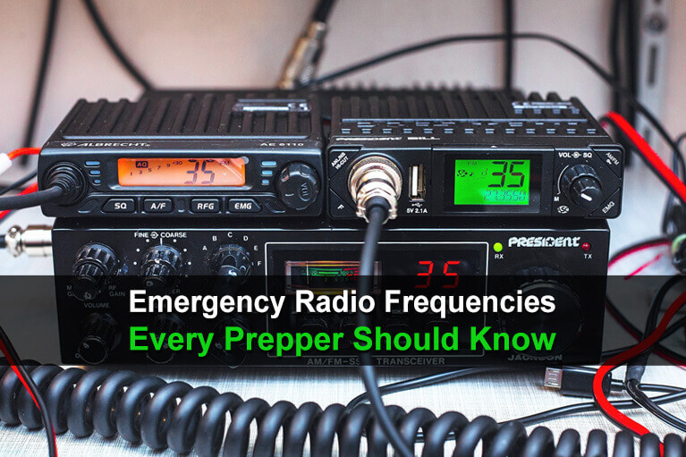 Emergency Radio Frequencies Every Prepper Should Know