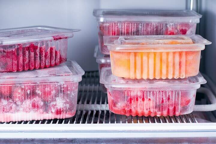 Fruits in the Freezer