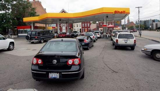 Gas Station Lines