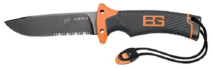 Gerber Bear Grylls Ultimate | Best Knives to Have in a Disaster Survival Knife