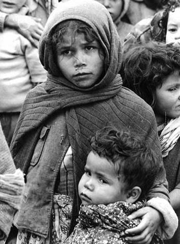 Group of Child Refugees