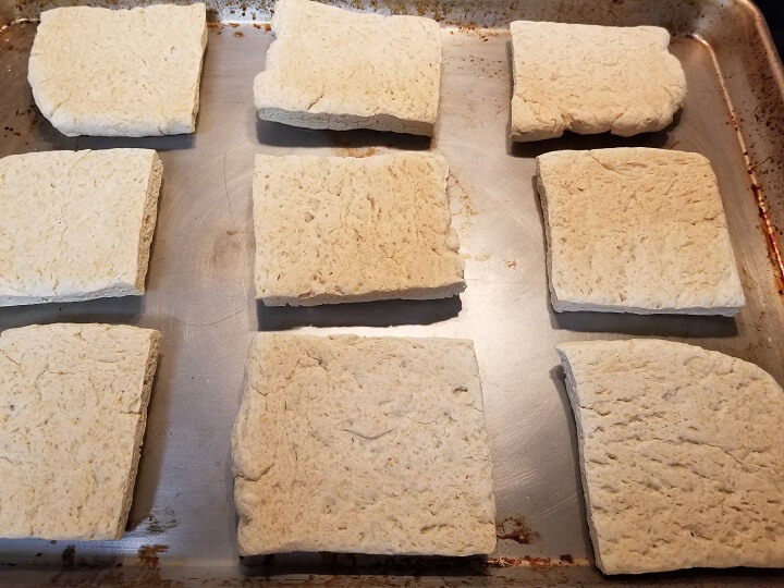Hardtack Flipped Over