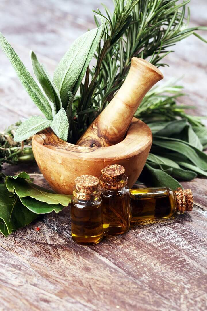 Healthy Herbs and Oils