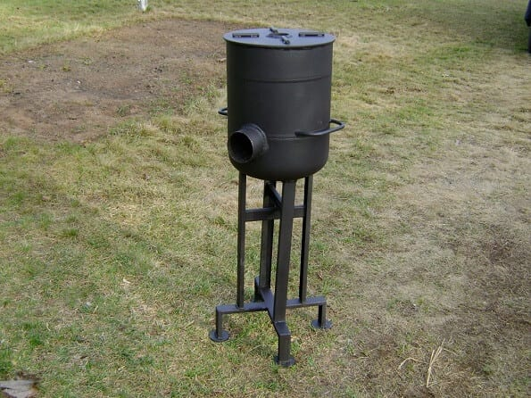 Heavy-Duty Rocket Stove