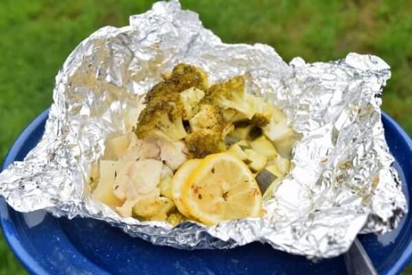 Herb Chicken Foil Dinner