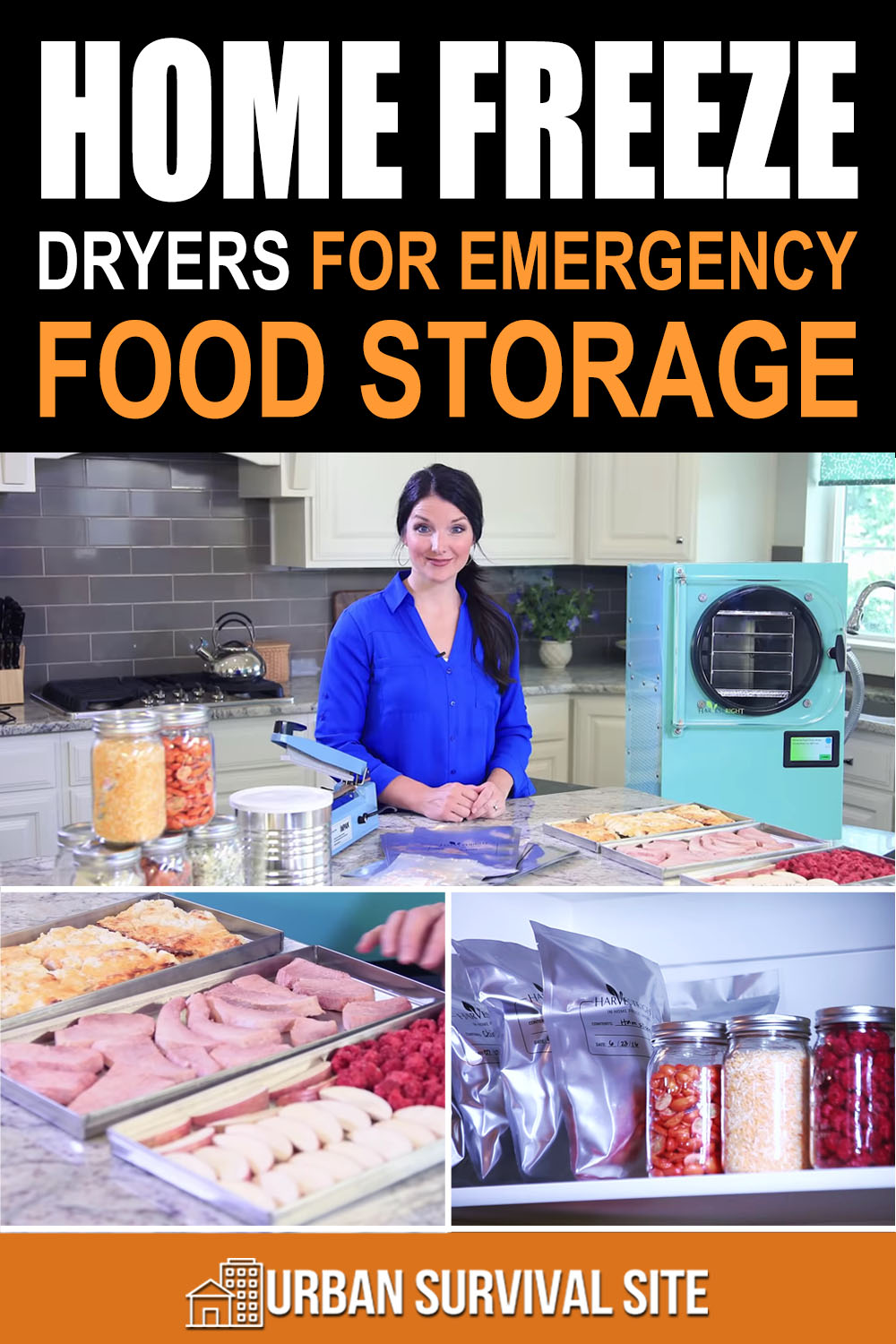 Home Freeze Dryers For Emergency Food Storage