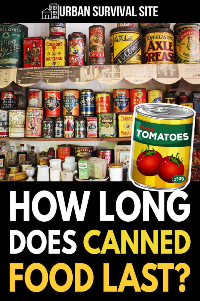How Long Does Canned Food Last?