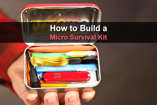 Believe it or not, you can fit a survival kit into a small Altoids tin. This video shows you exactly how to make a micro survival kit.