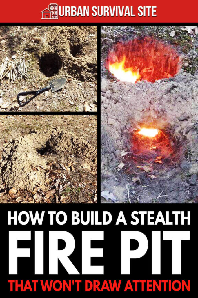 How To Build A Stealth Fire Pit That Won't Draw Attention