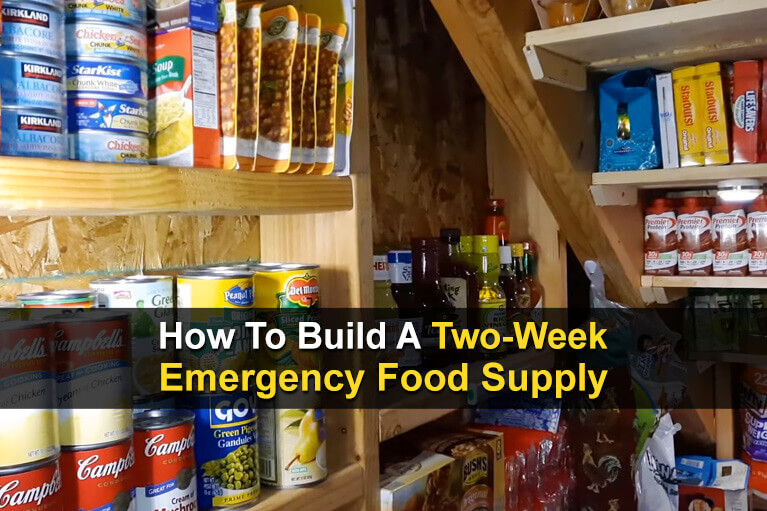 How To Build A Two-Week Emergency Food Supply