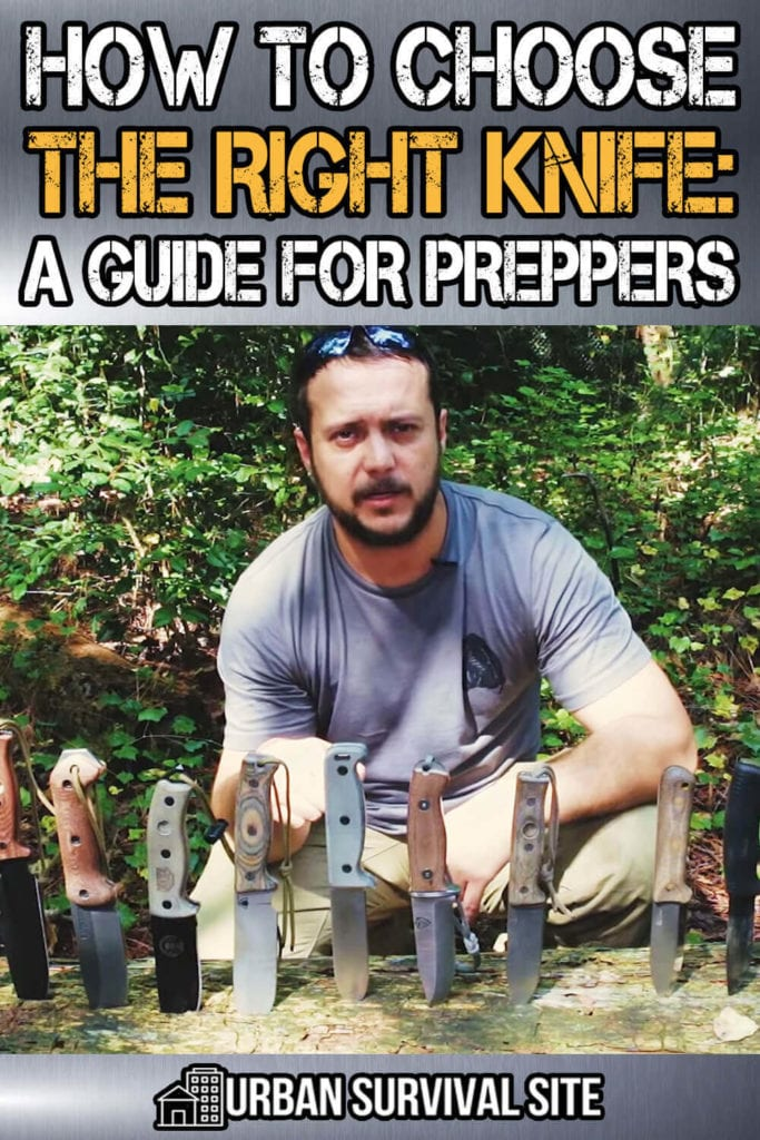 How to Choose the Right Knife: A Guide for Preppers