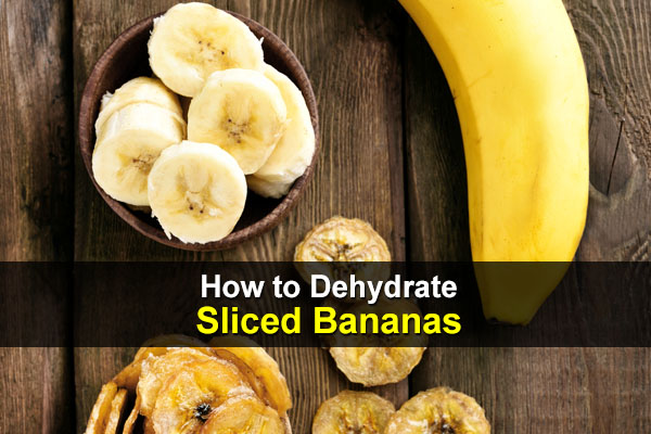 How to Dehydrate Sliced Bananas