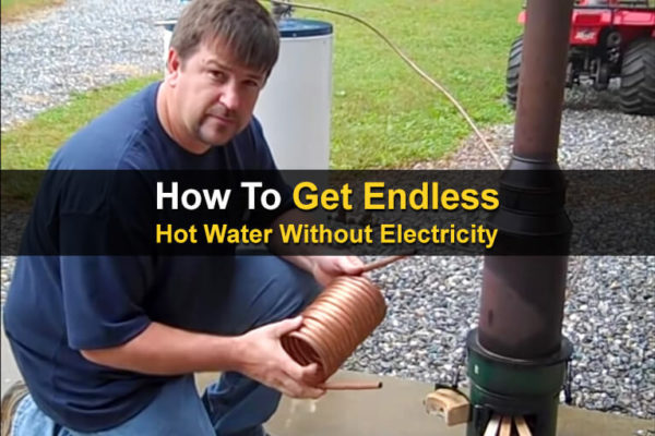 How To Get Endless Hot Water Without Electricity