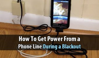 How to Get Power From a Phone Line During a Blackout
