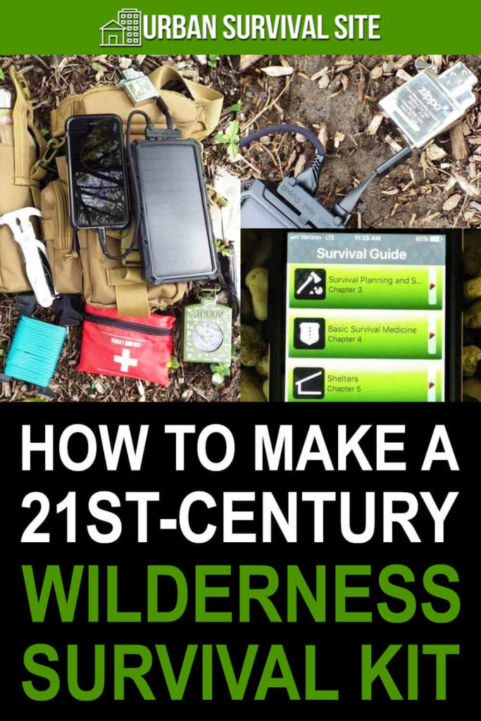 How To Make A 21st-Century Wilderness Survival Kit