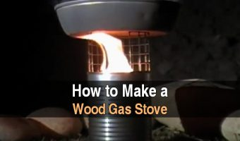 How to Make a Wood Gas Stove