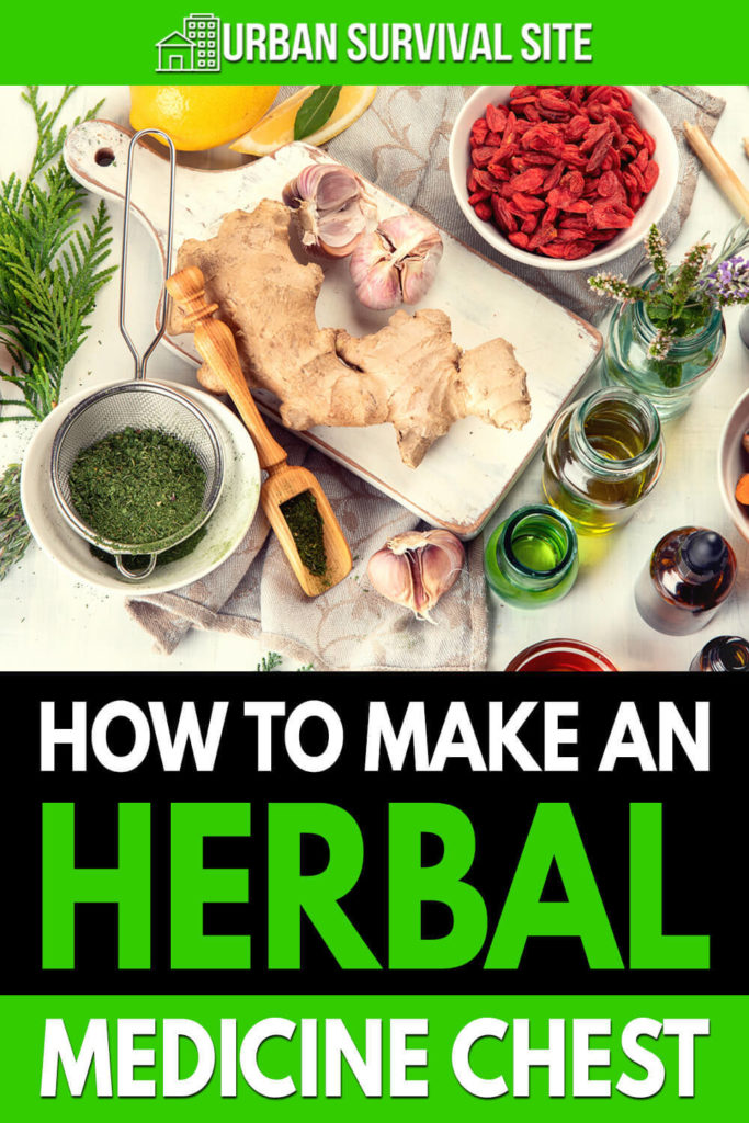How To Make An Herbal Medicine Chest