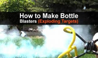 How To Make Bottle Blasters (Exploding Targets)