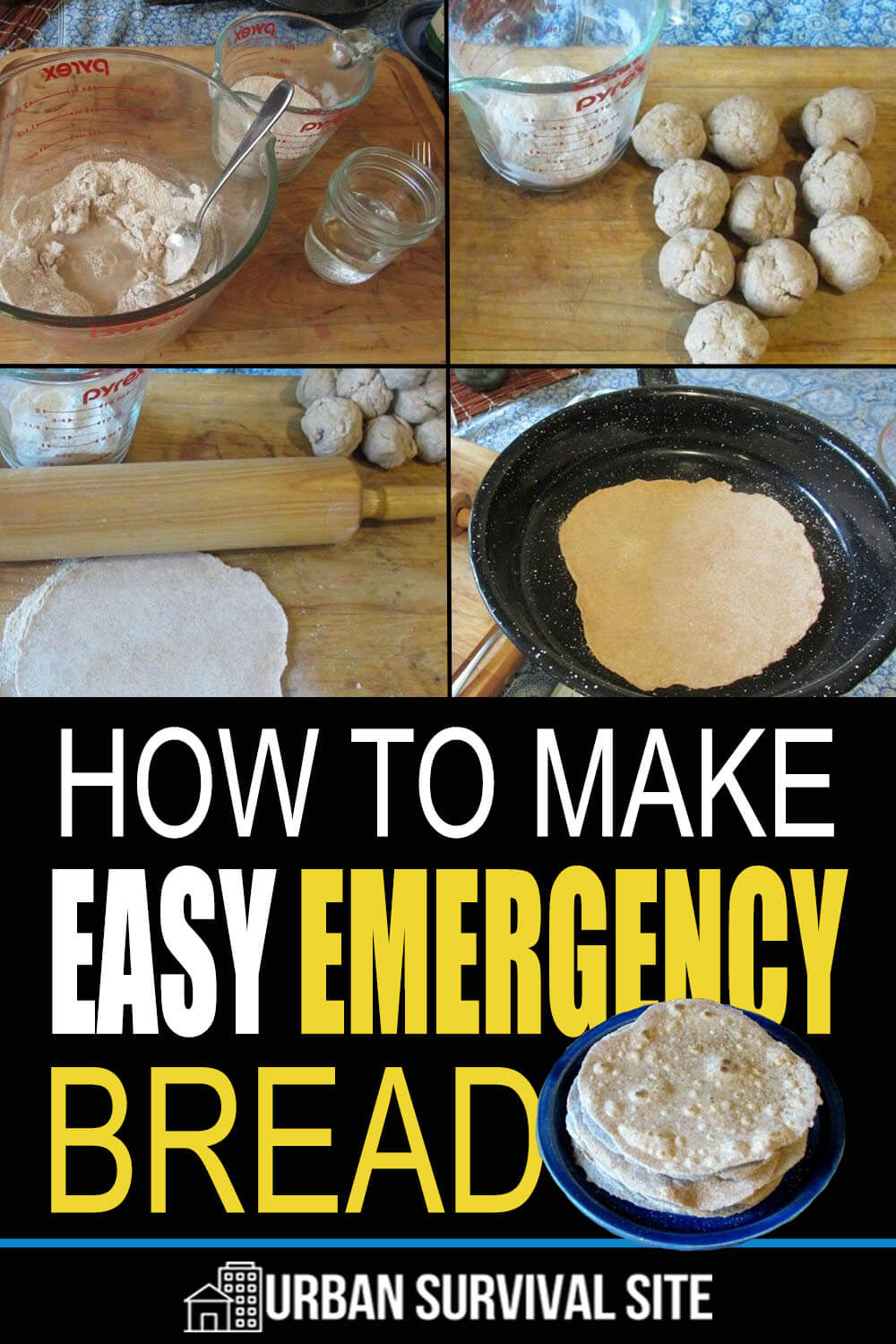 How to Make Easy Emergency Bread