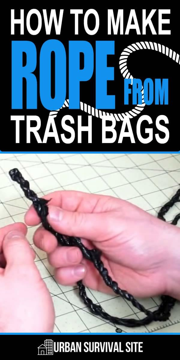 How to Make Rope from Trash Bags