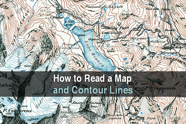 How to Read a Map and Contour Lines