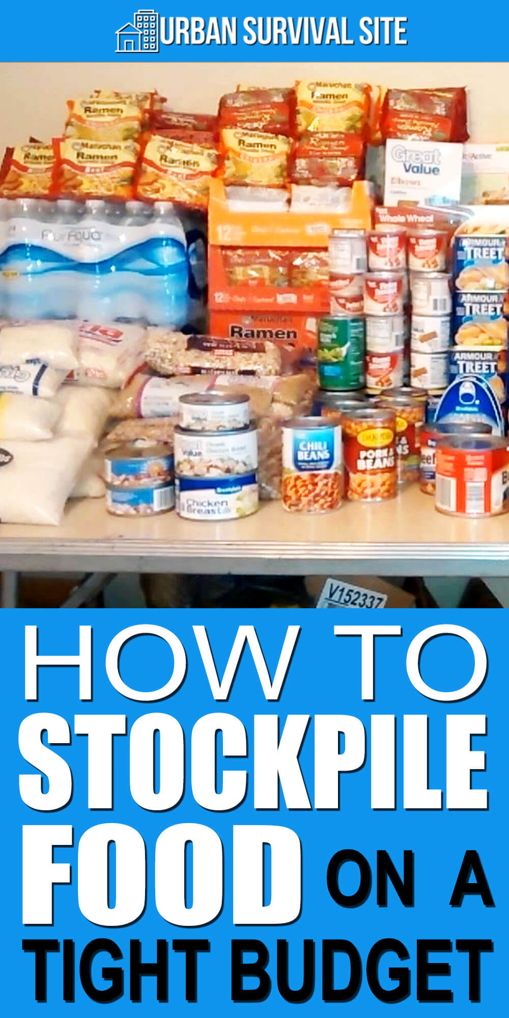 How To Stockpile Food On A Tight Budget